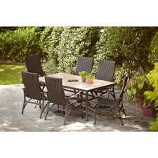 hampton bay belleville 7 piece patio dining set beautiful hampton pertaining to beautiful piece patio dining
