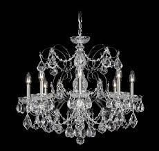 image of schonbek crystal chandelier parts lamps