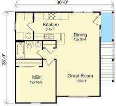 Narrow Lot Garage Apartment  22100SL  Architectural Designs Garage With Apartment Floor Plans