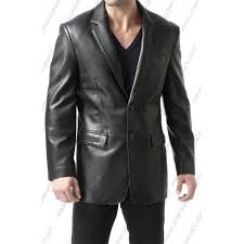 mens richard classic new zealand lambskin leather blazer