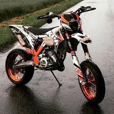 ktm supermoto 125cc motorrad bild idee