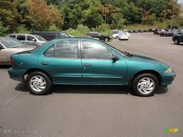 Medium Green Metallic 1999 Chevrolet Cavalier Sedan Exterior Photo ...