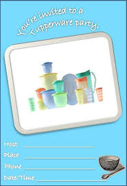 Tupperware Party Invitations Tupperware Party Invitations Old Tupperware Party Invitation