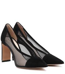 Nicholas Kirkwood Size Chart Yasmin Mesh And Suede Pumps