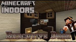 aesthetic lighting minecraft indoors torches tutorial. Executive Desk - Minecraft Indoors (Office Tutorial) Aesthetic Lighting Torches Tutorial C