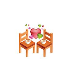 Hasil gambar untuk meja kursi kartun