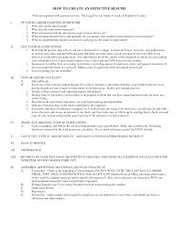 how to make effective resume exons tk category curriculum vitae
