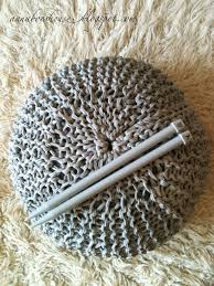Knitted Pouf Pattern Custom Design Inspiration