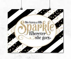 il 570xn on little black girl wall art with nursery quote wall art she leaves a little sparkle wherever she