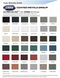 Firestone Metal Products Color Chart Manufacturers Icon Design Architectural Metal