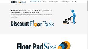 Pad Website Design Discount Floor Pads Website Design Development By Tracy