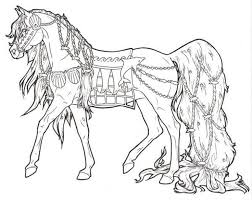 Small Picture 283 best Horses to colour images on Pinterest Drawings Coloring