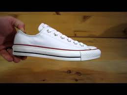 converse all stars chuck taylor ox leather white 00 24 25 578