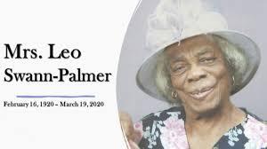 Graveside Service for Mrs. Leo Swann-Palmer - YouTube