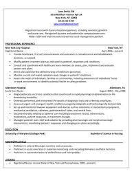 Director Of Nursing Resume Enchanting Graduate Nurse R Good Resume Examples Experienced Nursing Resume