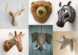 Interiors: Top animal wall mounts and faux taxidermy - Mollie Makes