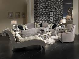 Michael Amini Living Room Furniture Sofa Sets Hollywood Swank Sectional Sofa Set By Michael Amini