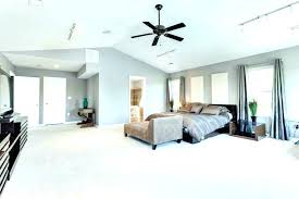 ceiling fans fan sloped cathedral mount contemporary master bedroom with length for vaulted c downrod