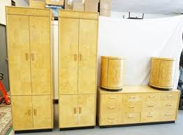 SCENE TWO* BY HENREDON. 5 PIECES OF BEDROOM FURNITURE. 2 TALL ...