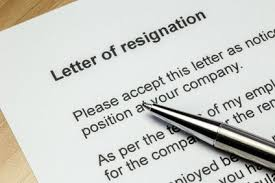 list of reasons for leaving a job free sample resignation letter