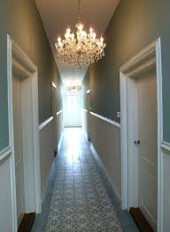 chandeliers small hallway chandelier modern country style ten effective decorating ideas for narrow hallways