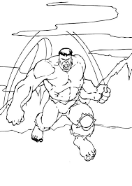 Small Picture Hulk lifts boulder coloring pages Hellokidscom