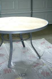 outdoor tile table top round outdoor table top how to create a concrete table top for