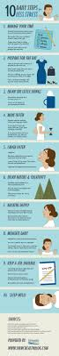 17 best images about stress management health how 10 daily steps for less stress infographic