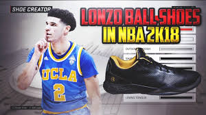 ball shoes. lonzo ball shoes will be in nba 2k18! zo2 shoe creation tutorial! ball shoes