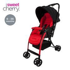 sweet cherry bt501b akida stroller red