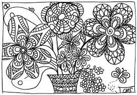 Coloriage Bouquet De Printemps Coloriage De Les Beaux Jours Et