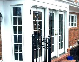 replace french door replacing garage with doors a fresh cost to glass replace french door