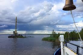 Плавучий остров обнаруженный на Волго Балте присоединили к суше