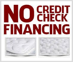 no credit check financing furniture