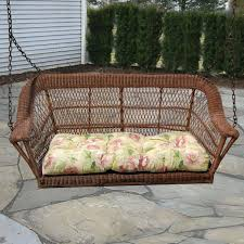 vintage wicker patio furniture. Contemporary Vintage North Cape Manchester Resin Wicker Porch Swing  Antique Wash   ShoppersChoicecom With Vintage Patio Furniture C