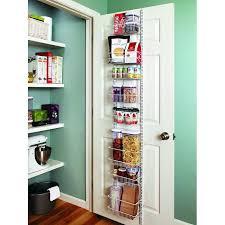 closetmaid pantry door rack 8 tier adjule cabinet door organizer closetmaid over the door pantry rack