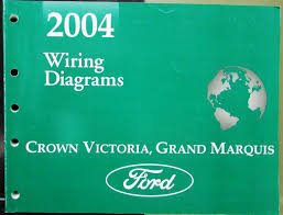 ford mercury electrical wiring diagram manual crown vic grand marquis 2004 ford mercury electrical wiring diagram manual crown vic grand marquis