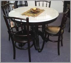 marble top dining table round of post