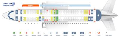 first cabin version of the boeing 737 800 738 v1 seat map united airlines boeing 737 800 v1
