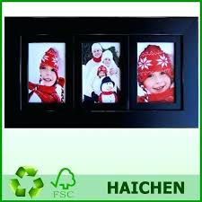 2 opening picture frame black wood collage multi for 8x10