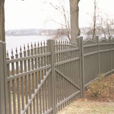 4 x 6 Aluminum Fence The Wilmington