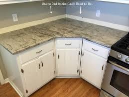 Kitchen Countertops Without Backsplash No Backsplash In Kitchen Interior Border Or No Border With A