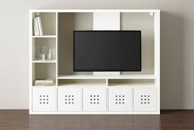 IKEA LAPPLAND TV storage unit White cm The shelves can be placed to the  left or right;