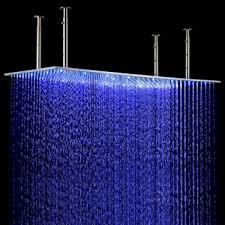 led ceiling mount rain shower head large shower head