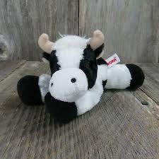 mini moo mini flopsie 8 aurora plush cow