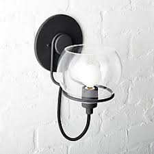 interior wall sconces lighting. Rest Clear Glass Black Wall Sconce Interior Wall Sconces Lighting