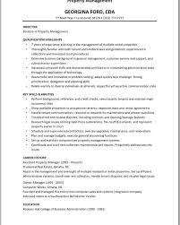 Exelent Residential Manager Resume Photos Documentation Template