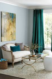 Peacock Color Living Room Decorating With Jewel Tones How To Decorate