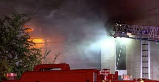 Firefighter hospitalized while fighting 2-alarm house fire in River ...