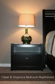 bedroom night stands. Clean And Organize Bedroom Nightstand Night Stands R